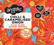Angelic - GF Chilli & Caramelised Onion  ( 8 x 142g)