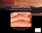 Rannoch - Hot Smoked Salmon Lemon & Parsley (1 x 80g)