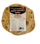 Shemins - Wholemeal Naan Breads (4 Pack) (1 x 350g)