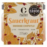 The Cultured Collective - GF Vegan Smoked Chipotle Chilli Kraut (6x235g)