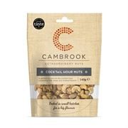 Cambrook - Cocktail Hour Nuts (10 x 140g)