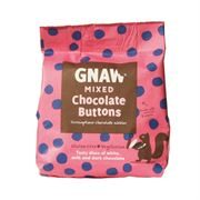 Gnaw - Mixed Chocolate Buttons (6 x 150g)