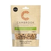 Cambrook - Baked Cashews & Peanuts w Chilli & Lime (10x140g)