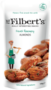 Mr Filberts - GF VG French Rosemary Almonds (12 x 100g)*New Case Size*