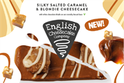 English Cheesecake - Salted Caramel & Blondie (4 x 226g)